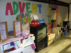 Advent project at STM